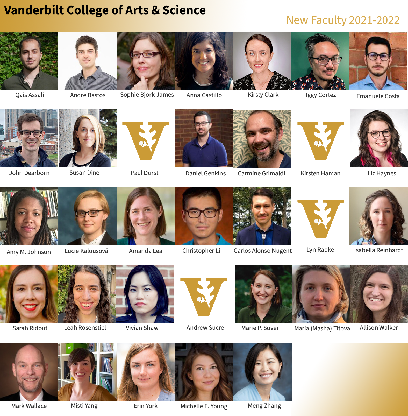 New Faculty 2021-2022