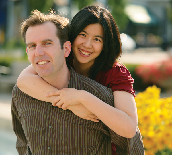 Elaine Wu and Jon Weindruch