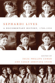 cover for Sephardi Lives