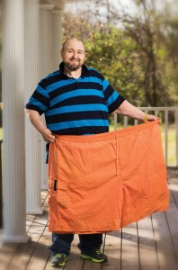 Eddie Dotson lost more than 350 pounds and gained a new lease on life. Photo by Joe Howell.